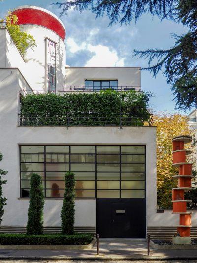 Hôtels particuliers réalisés par Robert MALLET-STEVENS, rue Mallet-Stevens, Paris, 16ème arrondissement © Yasmine TANDJAOUI