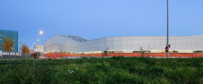 Centre technique de Blagnac - Arch. NBJ architectes - Photo : Paul Kozlowski