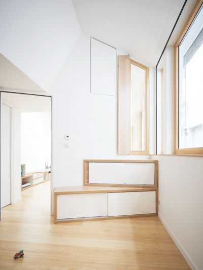 Transformation d'un atelier de peinture - Arch. Atelier Wilda - Photo : David Foessel