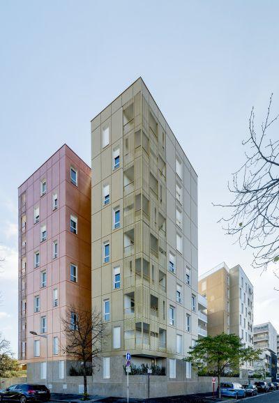 60 logements ZAC de la Vache à l'Aise - Arch. Jean Bocabeille Architecte - Photo : Christophe Demonfaucon