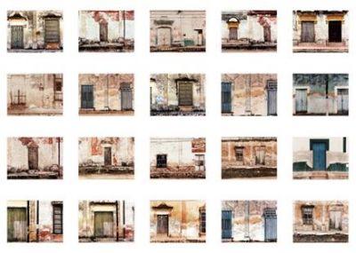 Sean Scully - pueblo dzibalchen - Galerie lelong