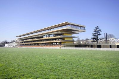 Hippodrome de Longchamp - Arch. Dominique Perrault Architecture - Photo : Vincent Fillon