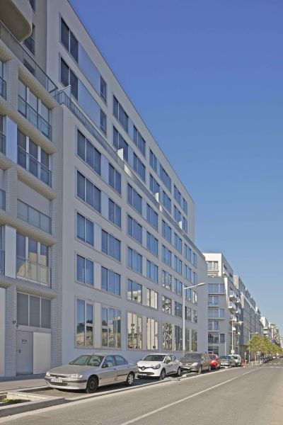 Cap City Rives de Seine - Arch. PPA architectures, Xavier Leplaë architecte - Photo : Philippe Ruault