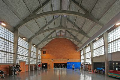 Gymnase Libergier - Arch. Phillippe Gibert Architecte - Photo : Philippe Ruault, Clément Chevet