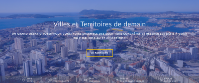 via www.contributions-villesterritoires.gouv.fr