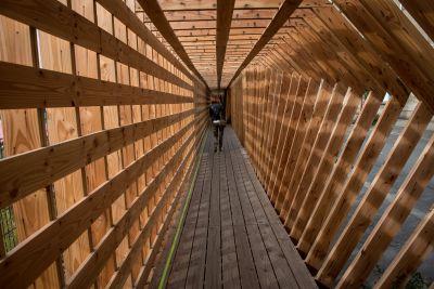Oscillation - Arch. Atelier Vecteur - Photo : Tim Fox