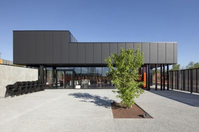 Restaurant Inter-Entreprise - Arch. Atelier Didier Dalmas - Photo : Jérôme Ricolleau, Tristan Deschamps