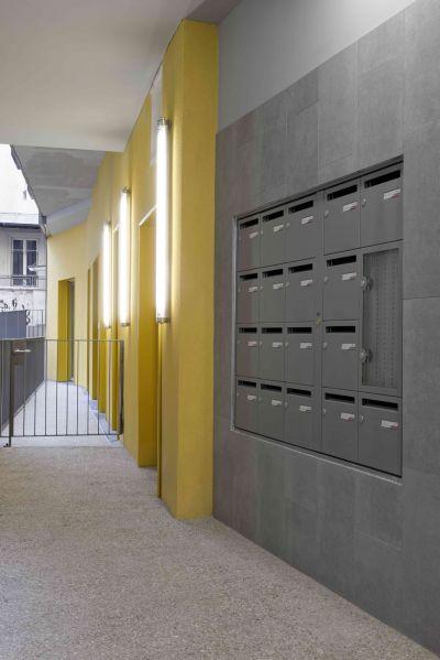 16 logements collectifs - Arch. F. Commerçon architect, Verdier + Rebiere architects - Photo : Nicolas Fussler