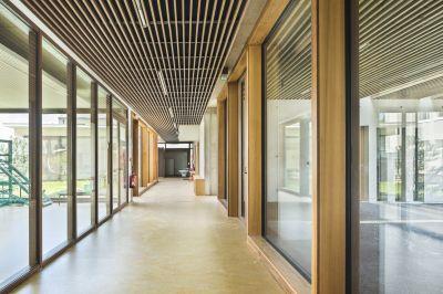 École publique - Arch. Richard+Schoeller - Photo : Sergio Grazia