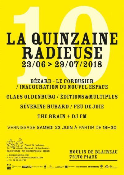 Affiche La Quinzaine radieuse 10e édition