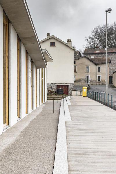 Mairie de Paslières - Arch. Boris Bouchet Architectes - Photo : Benoît Alazard