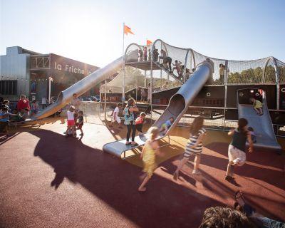 Friche La Belle de Mai, vue de la Place des Quais et du Playground - Photo : Caroline Dutrey