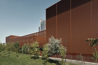 Global Switch Data Center à Clichy - Arch. Reid Brewin Architectes - Photos : Epaillard+Machado