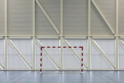 Salle de sports Plouha - Arch. Studio 02 - Photo : Luc Boegly