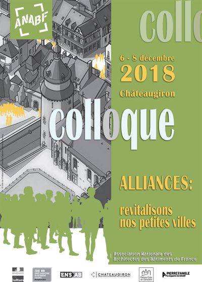 Colloque de l'Association Nationale des Architectes des Bâtiments de France du 6 au 8 décembre 2018