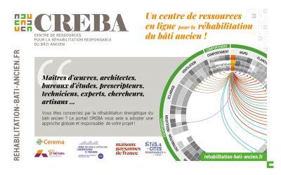 Le Centre de Ressources en ligne pour la Réhabilitation Responsable du Bâti Ancien (CREBA)