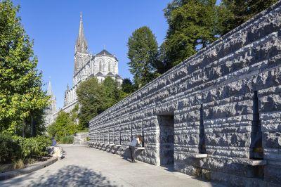 Sanctuaires de Lourdes - Arch. INCA Architectes - Photo : Franck Brouillet