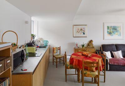 Logements pour personnes âgées à Huningue - Arch. Dominique Coulon & associés - Photo : Eugeni Pons