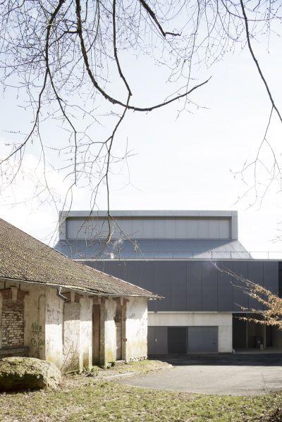 Centre socio-culturel de Giromagny - Arch. Malcotti Roussey Architectes, Thierry Gheza - Photo : Nicolas Waltefaugle