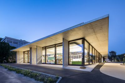 Groupe scolaire d'Épernon - Arch. Richard+Schoeller - Photo : Sergio Grazia