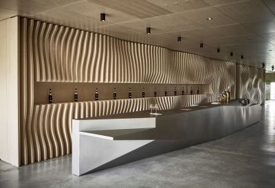 Le Chai des domaines Ott - Arch. Carl Fredrik Svenstedt Architect - Photo : Dan Glasser