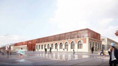Futur Centre des Savoirs pour l'Innnovation - Crédit : K Architectures