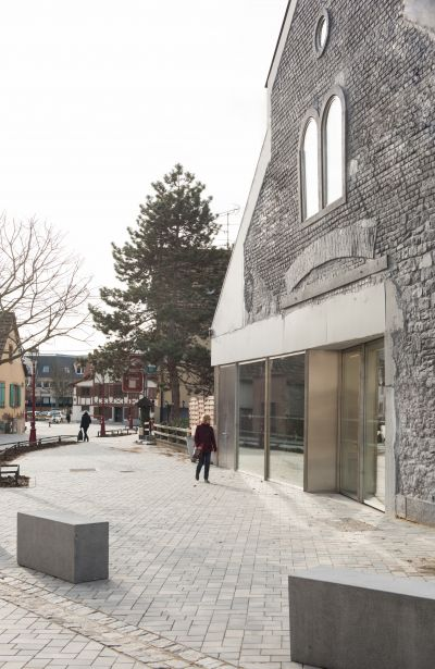 Marché couvert et espace d'exposition à Schiltigheim - Arch. Dominique Coulon & Associés - Photo : Eugeni Pons