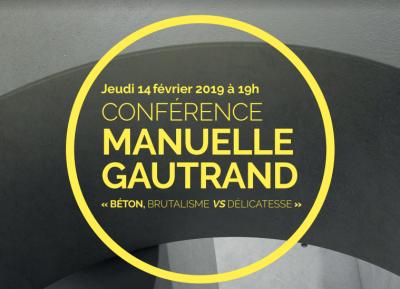Manuelle Gautrand, invitée de la soirée de lancement de la 8ème édition du Trophée béton Écoles - Image : Trophée béton