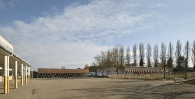 Collège Jean Mermoz - Arch. Mabire Reich Architectes - Photo : Guillaume Satre