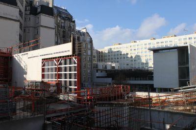 Visite du conservatoire Vandal - Arch. Bruno Mader - Photo : © Mairie de Paris / Clément Dorval