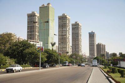 Avenue 04, Le Caire, 2005 Claire Chevrier Tirage numérique 36 x 53 x 3,5 cm © Claire Chevrier