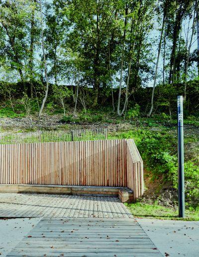 Rampe urbaine - Arch. Espace Libre - Photo : Julien Falsimagne