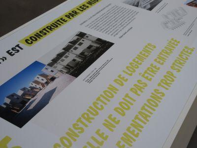 L'exposition Arrival Cities, présentée à la Maison de l'Architecture et de la Ville PACA - Photo : MAV PACA