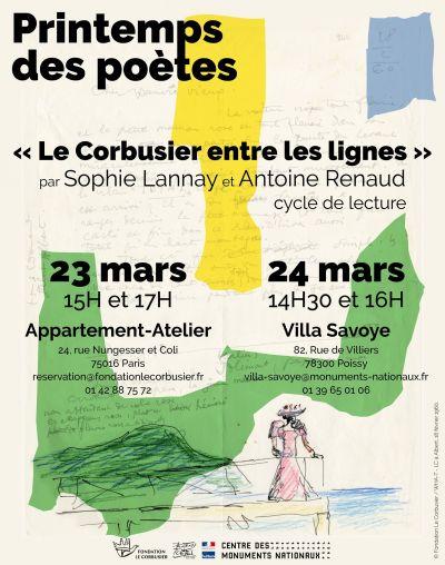 Le Printemps des Poètes invite à redécouvrir Le Corbusier - Image : Fondation Le Corbusier