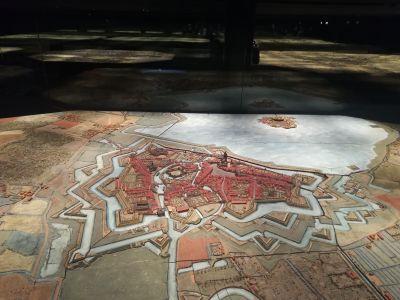 Le Plan-Relief de Audenarde entièrement dépoussiéré et rénové apparaît sous un nouvel éclairage - Crédit photo : Marie crabié