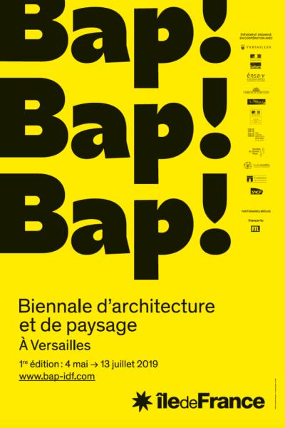 Biennale d'Architecture et de Paysage d'Île-de-France, du 4 mai à 13 juillet 2019