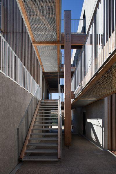 Logements sociaux Passantes - Arch.Comte & Vollenweider Architectes - Photo : Milene Servelle