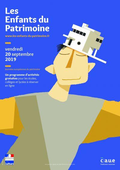 La 2ème édition des enfants du Patrimoine aura lieu le 20 septembre à la veille des Journées Européennes du Patrimoine - Image : CAUE IDF
