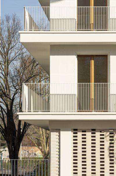 Unité de logements sociaux - Arch. JTB. Architecture - Photo : Luc Boegly