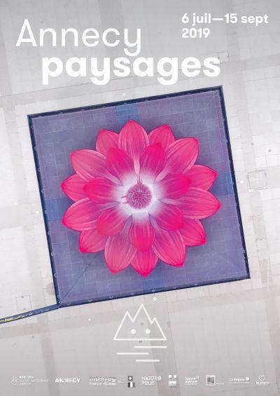 Affiche d'« Annecy Paysages », deuxième édition © via DP