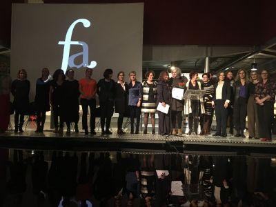 Cérémonie du prix des Femmes Architectes, lundi 10 décembre 2018 - Photo : David Abittan