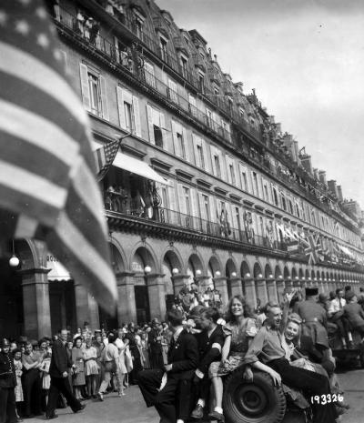 Libération de Paris © National Archives and Records Administration