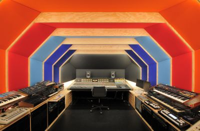 Studio d'enregistrement - Arch. Fairfax - Photo : Fairfax