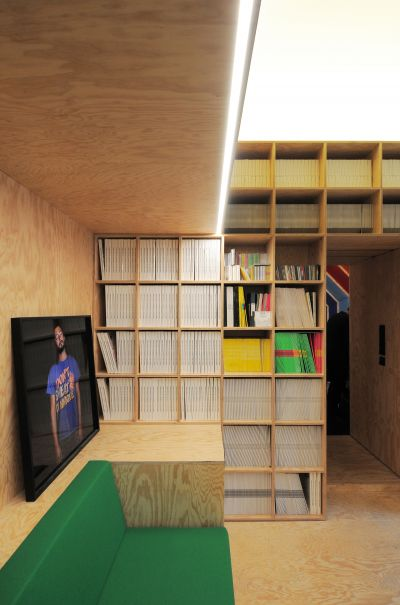 Studio d'enregistrement - Arch. Fairfax - Photo : Fairfax