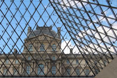 La Pyramide du Louvre - Arch : I.M Pei © Fred Romero CC BY 2.0
