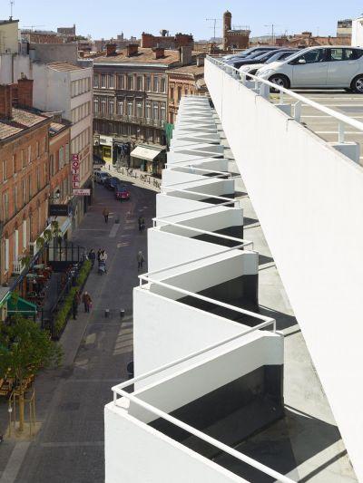 Marché Parking Victor Hugo - Arch.Taillandier Architectes Associés, Scalène Architectes - Photo : Roland Halbe