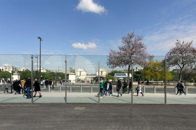 Aménagement de dispositifs de sécurité autour de la - Tour Eiffel Arch. Dietmar Freichtinger Architectes - Photo : David Boureau