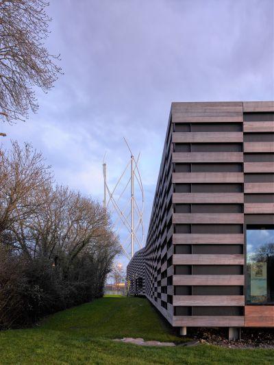 Centre de découverte Terre d'Estuaire Cordemais - Arch. Bruno Mader - Photo : Stéphane Chalmeau