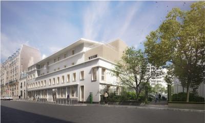 Centre social Michelet - Arch. EHW Architecte (rehab) - Photo : CAUE 75