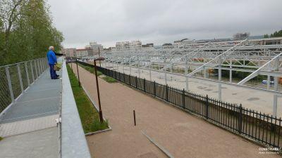 Nature & Découvertes à Versailles - Arch : Patrick Bouchain - Photo : Atelier Construire